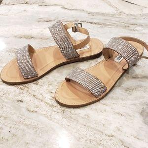 Steve Madden rhinestone strappy sandal NEW